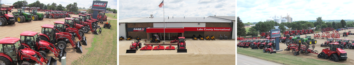 Lake County International with CASE IH equipment
